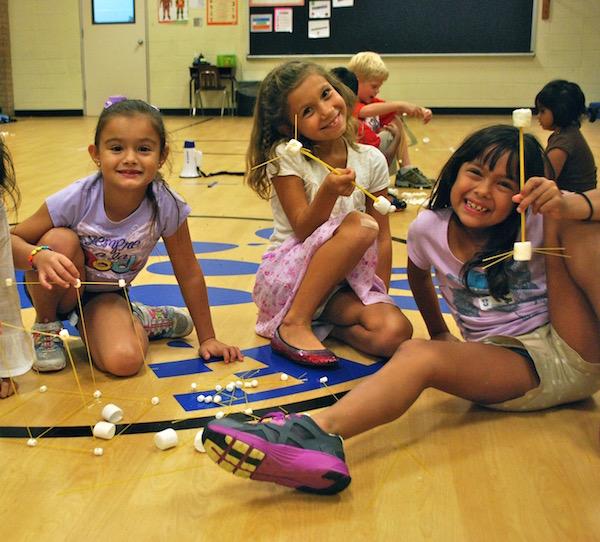 Spaghetti Marshmallow Tower Budget Stem Activities- Kid World Citizen