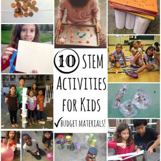 Budget STEM Activities For Kids- Kid World Citizen