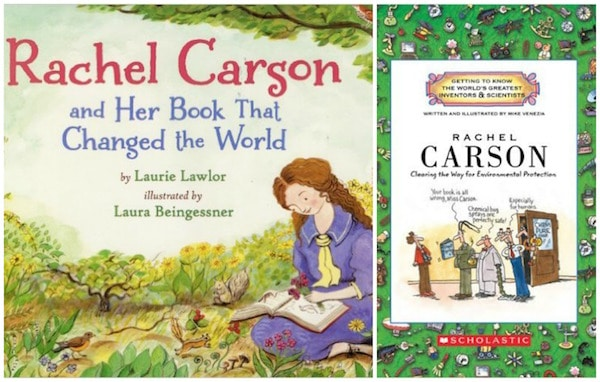 Rachel Carson Women Scientists Books- Kid World Citizen