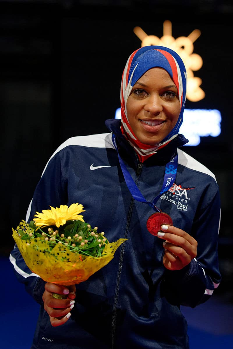Ibtihaj Muhammad Fencing- Kid World Citizen