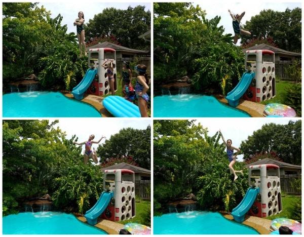 backyard olympics swimming- Kid World Citizen
