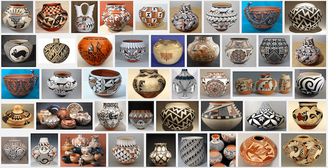 Pueblo Pottery Images- Kid World Citizen
