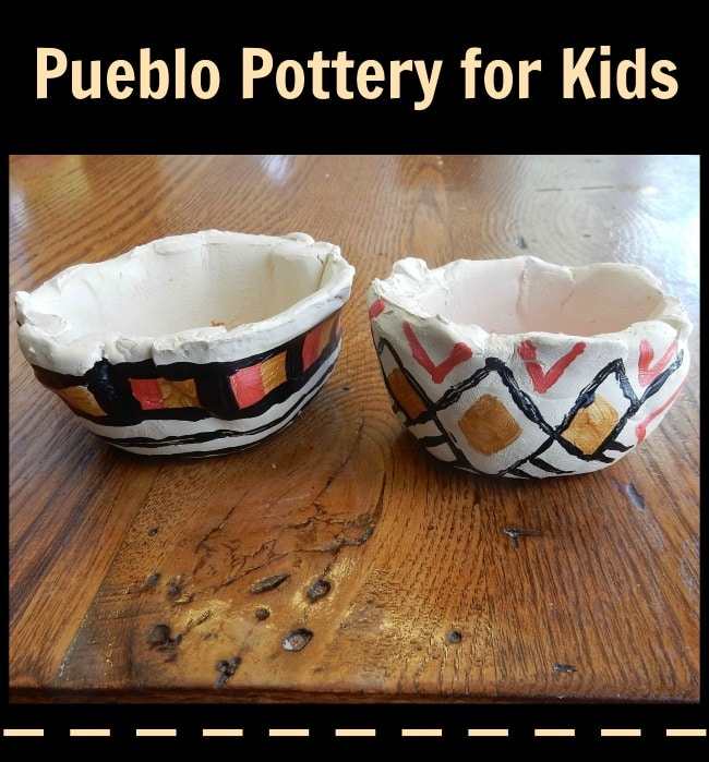 Pueblo Pottery for Kids- Kid World Citizen