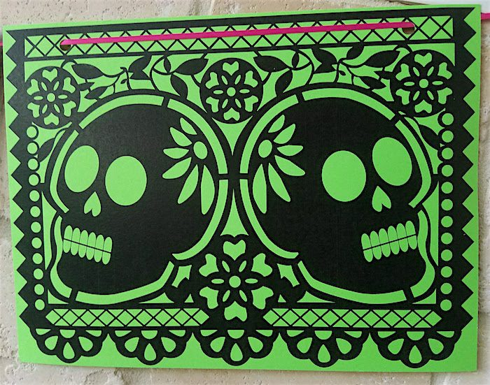 Day of the dead papel picado decorations- Kid World Citizen