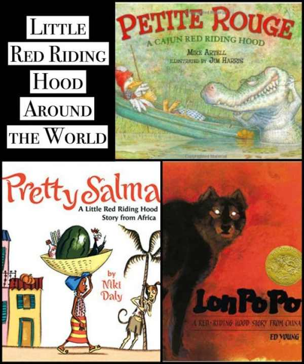 Multicultural Little Red Riding Hood around the world- Kid World Citizen