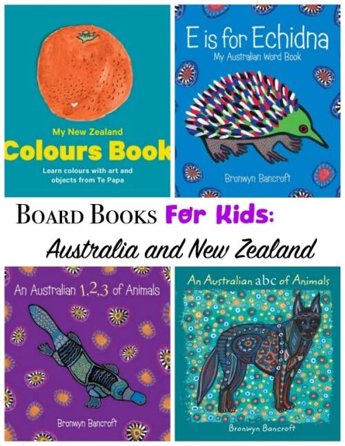 Australian Board Books for Kids- Kid World Citizen