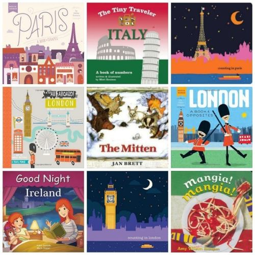 Board Books about Europe- Kid World Citizen