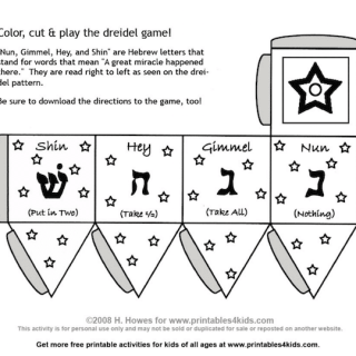 What is a Dreidel? How to Make and Play