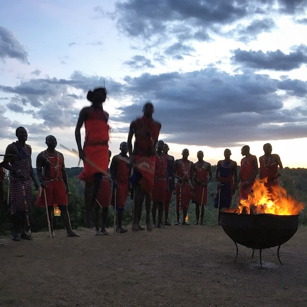 masai kenya kids family travel- Kid World Citizen