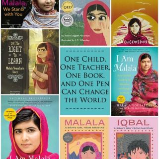 Learn about Malala Facts Books- Kid World Citizen
