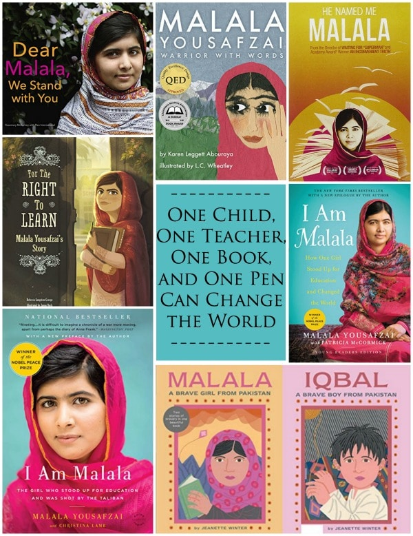 Learn about Malala Facts Books- Kid World Citizen