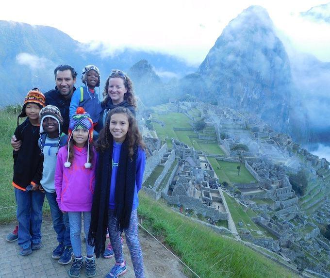 Machu Picchu Kids Family Travel- Kid World Citizen