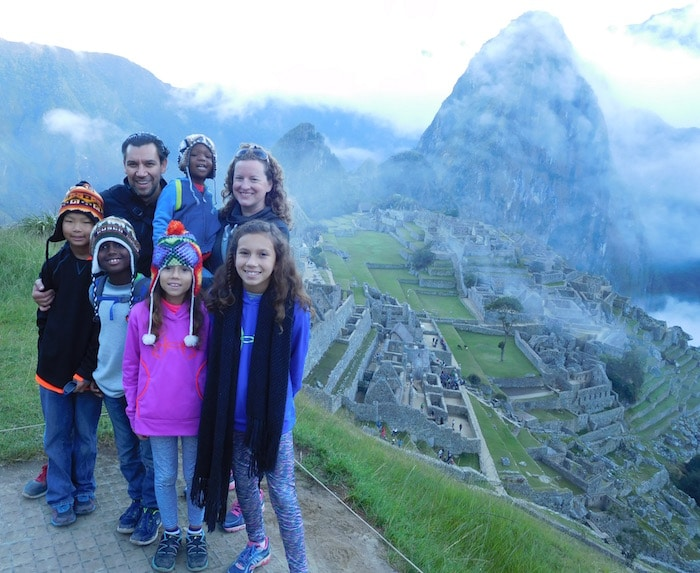 Machu Picchu Kids Family Travel- Kid World Citizen
