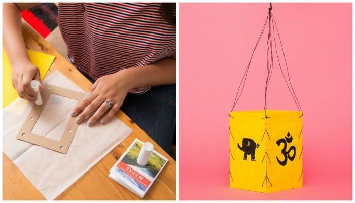 Nepal Lantern Craft Kit Kids- Kid World Citizen