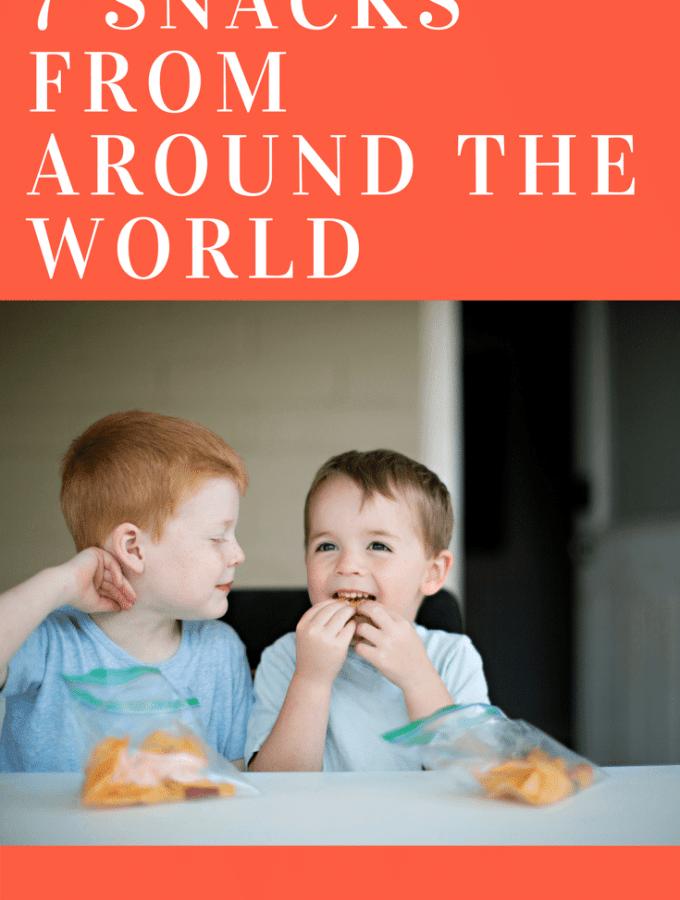 Snacks from around the world