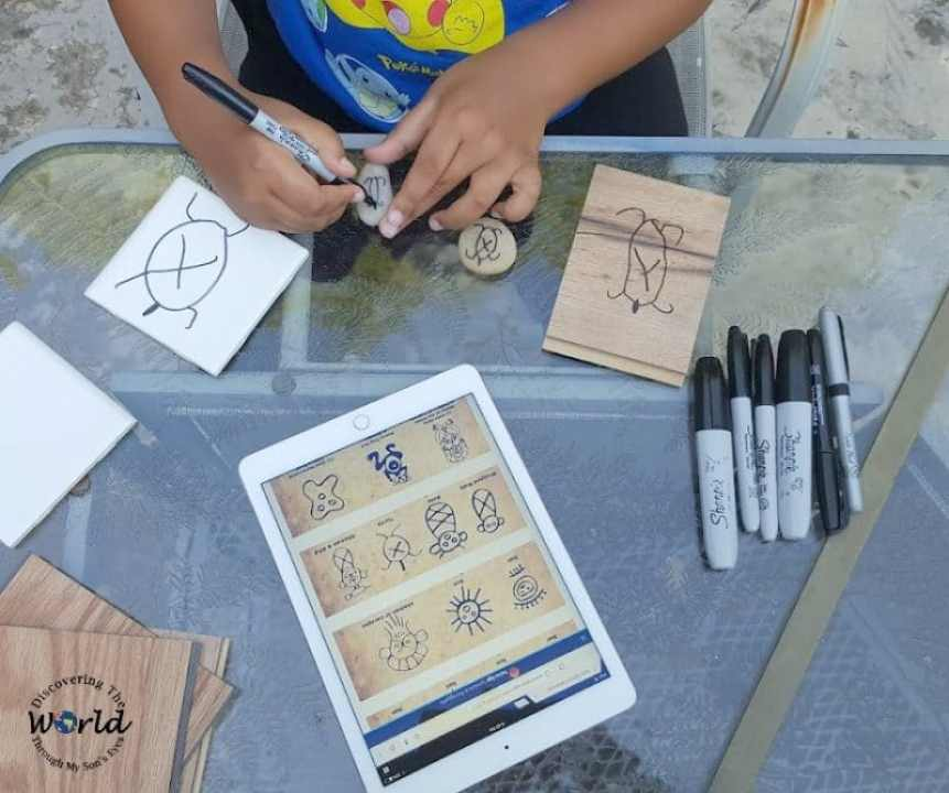 Taíno Petroglyphs: Hispanic Culture & Rock Art for Kids