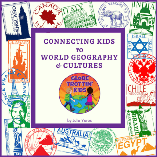 Globe Trottin Kids Logo- Kid World Citizen