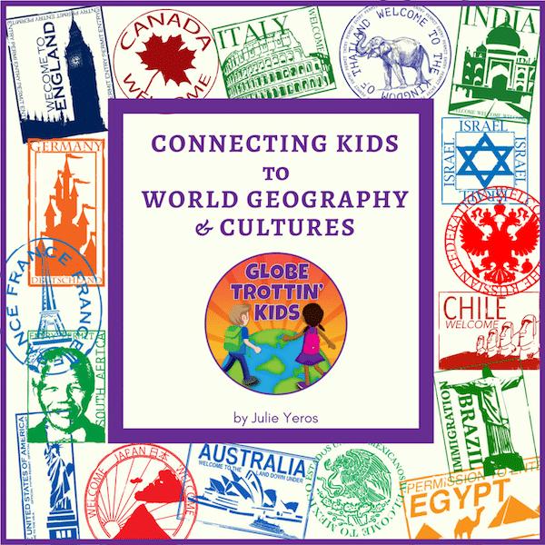 Globe Trottin Kids Logo- Kid World Citizen
