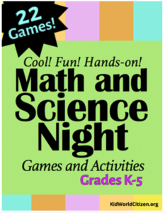 Math and Science Night- Kid World Citizen