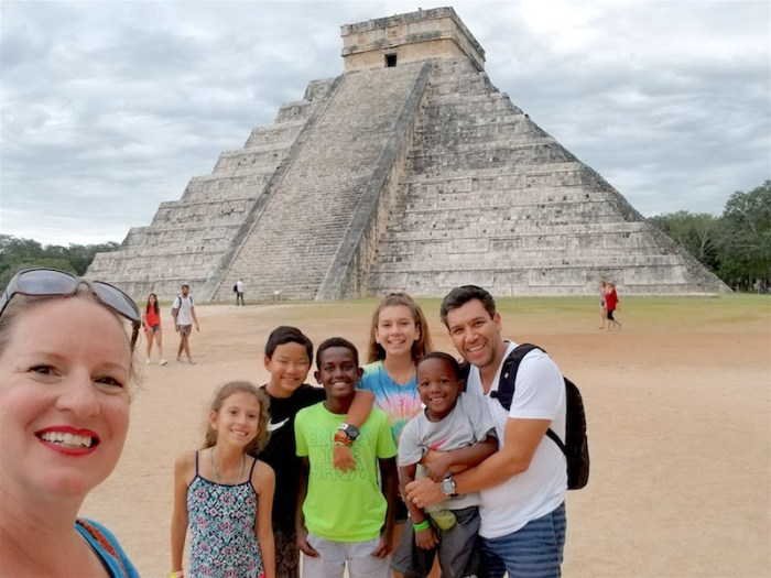 Chichen Itza Family- Kid World Citizen