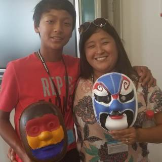 Chinese Masks Craft Kids- Kid World Citizen