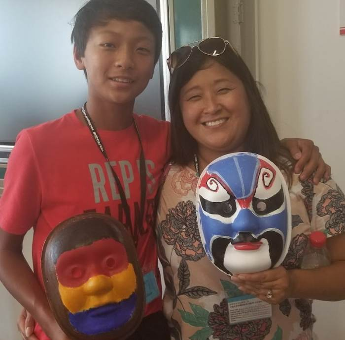 Chinese Beijing Opera Masks Craft Kids- Kid World Citizen