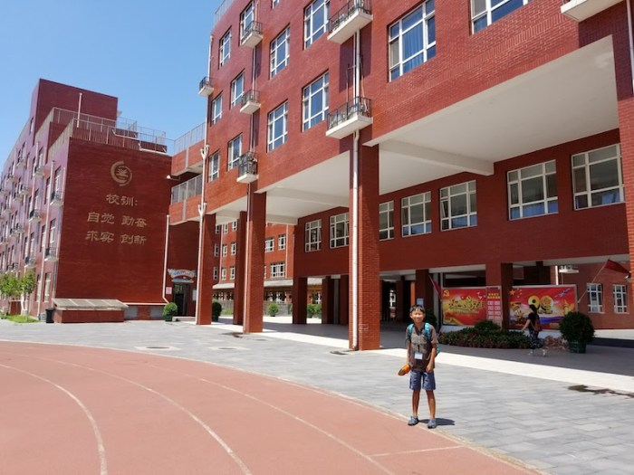 Visiting Chinese School- Kid World Citizen