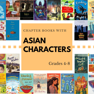Chapter Books with Asian Characters- Kid World Citizen