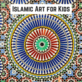 Islamic Art Lesson for Kids- Kid World Citizen
