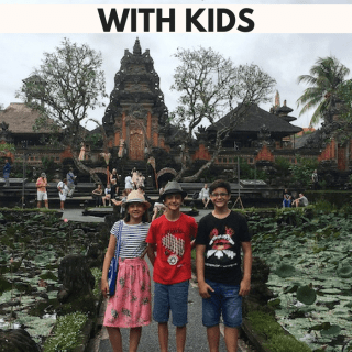 Travel Bali with Kids Family- Kid World Citizen
