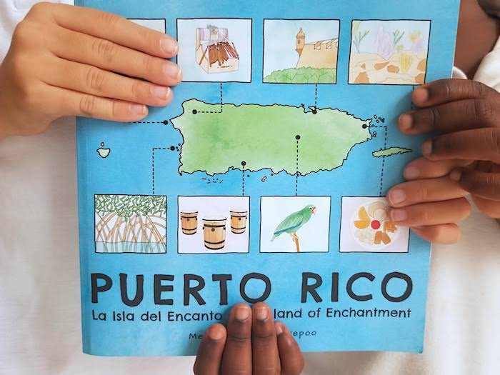 Learn about Puerto Rico Book- Kid World Citizen