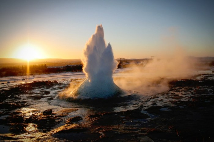 Great Geyser Travel Iceland with Kids- Kid World Citizen