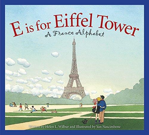 Eiffel Tower Book- Kid World Citizen