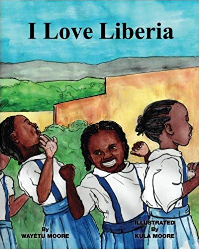 I Love Liberia Book- Kid World Citizen