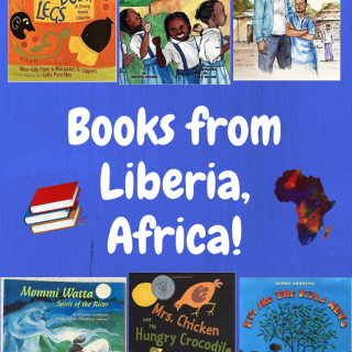 Books from Liberia- Kid World Citizen