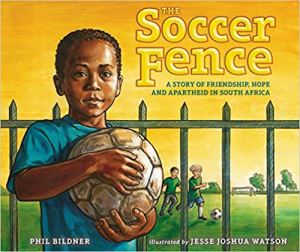 Soccer Fence South Africa Book- Kid World Citizen