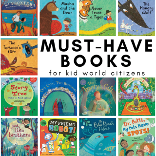 Books Set Around the World- Kid World Citizen