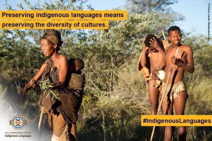 Preserving Indigenous Languages