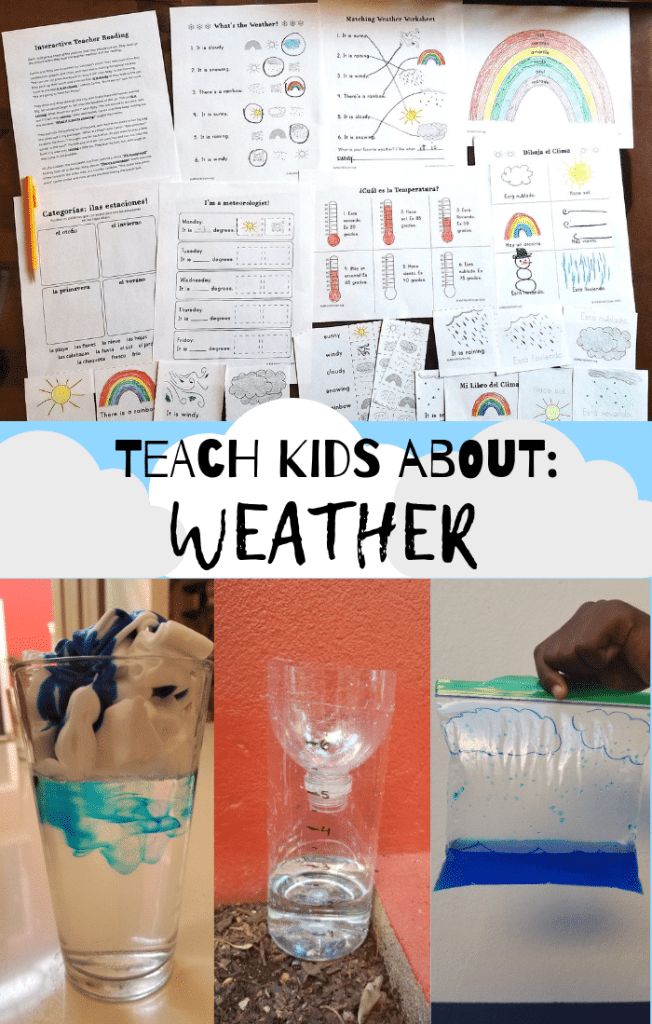 Teach Kids about Weather Lessons- Kid World Citizen