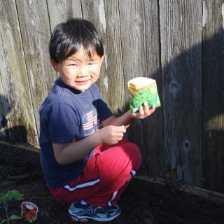 Planting Chinese Vegetable Garden- Kid World Citizen