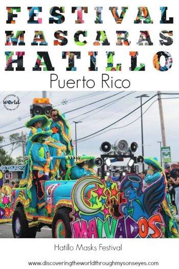 Puerto Rican Mask Festival- Kid World Citizen