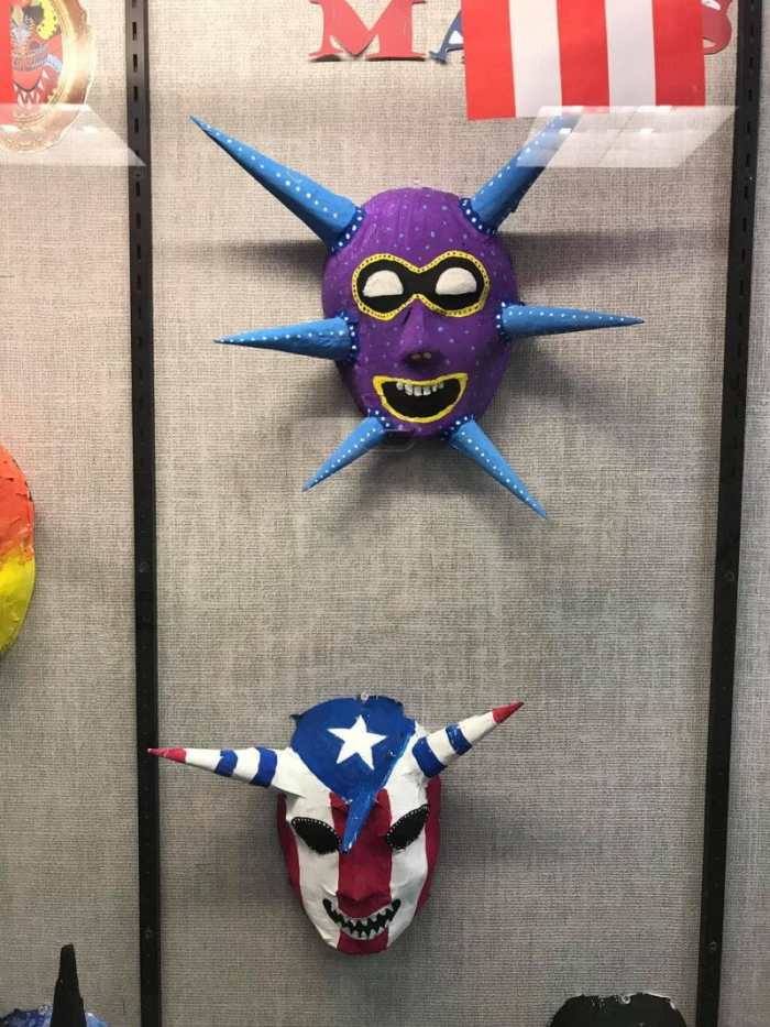 Vejigantes Puerto Rican Art Project- Kid World Citizen