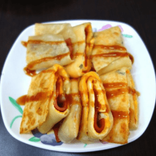 Ji Dan Bing Taiwan Crepe Recipe- Kid World Citizen