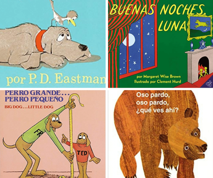 Classic Books in Spanish for Toddlers- Kid World Citizen