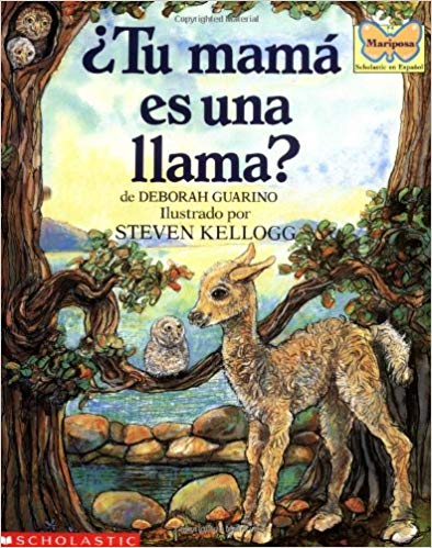 Mama Llama Spanish Toddler Books- Kid World Citizen
