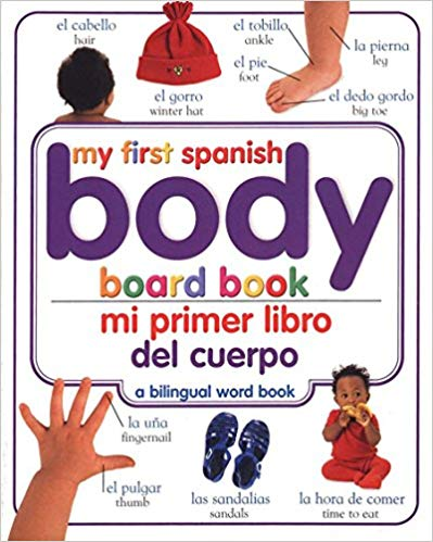 Parts of the Body Toddler Spanish- Kid World Citizen