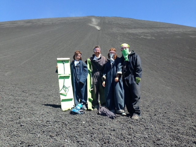 Volcano Boarding in Cerro Negro