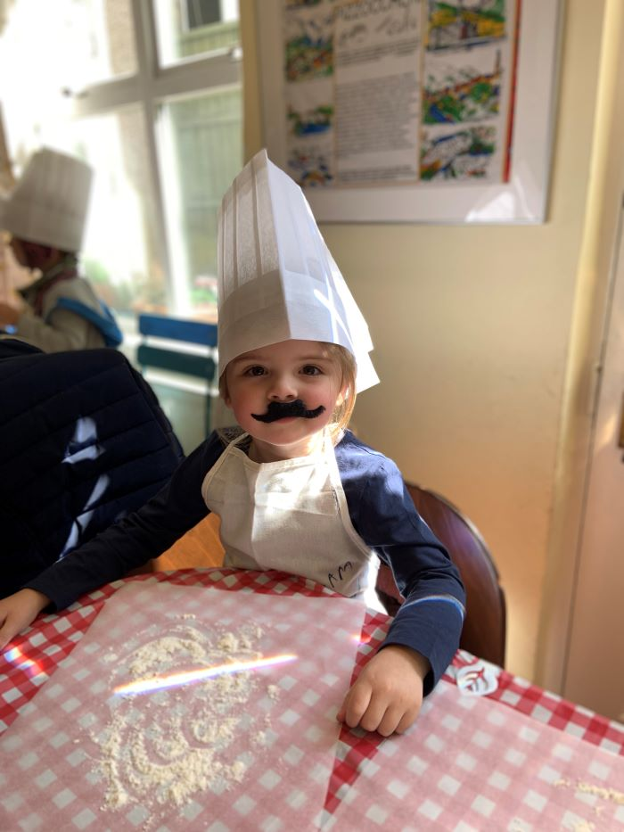 Little pizza Chef