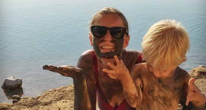 Dead Sea with kids