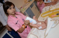 KidZania Jeddah - Taking care of the newborn babies